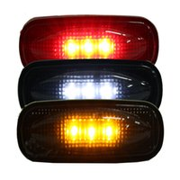 lentes de marcador de coche al por mayor-Para Ford F350 F450 LED para cama Fender Auto Car LED Marcador lateral Luces de señalización Lámparas de humo Lentes