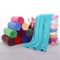 Wholesale Floor Dryers - Cleaning Cloths Fast Drying Water Uptake Auto Clean Towels Superfine Fiber Kitchen Cleanliness Beauty Salon Towels 30*70cm WX-T05