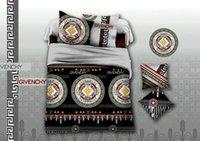 Wholesale Brands Bedding Sets - Wholesale- New 4 pcs cotton 3d Luxury brand bedding sets queen size comforter set duvet cover set bed sheet