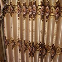 Wholesale Decorative Bedroom Doors Wholesale - European Style Living Room Curtain Fashion Design Embroider Window Shades Romantic Decorative Drapes Customized Available Wholesale #Cloth