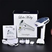 permanente entfernung großhandel-TAMAX HR001 MOQ 1 Laser-Haarentfernungsgerät für den Heimgebrauch wird mit zwei IPL-Elpilatoren für die dauerhafte Haarentfernung der Haut geliefert