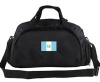 Wholesale College Football Nation - Guatemala duffel bag Nation team logo tote Outdoor soft luggage Football duffle Handle backpack Sport sling handbag