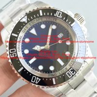 Wholesale Sapphire Sea Crystal - Best Stoer NOOB V7 Version 44mm Automatic 2836 Men Watch Blue Dial 116660 CERAMIC Bezel Sapphire Crystal sea Dive Watch Best watch