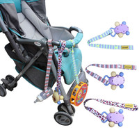 Wholesale Sippy Cup Strap - Wholesale- Fashion Hot Sales Fixed Toys Rope No Drop Baby Bottle Toy Sippy Cup Holder Strap For Stroller New Color Random