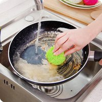 Wholesale Quality Rice Cooker - High quality clean ball does not hurt the coated rice cooker special kitchen decontamination clean brush