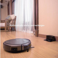Wholesale Dry Cleaning Carpet Cleaners - ILIFE A4 Robot Vacuum Cleaner House Carpet Floor Anti Collision Anti Fall, Self Charge, Remote Control, Auto Clean