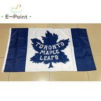 ingrosso case d'acero-Toronto Maple Leafs National Hockey League (NHL) 3 * 5ft (90 cm * 150 cm) bandiera poliestere Banner decorazione americana volare casa giardino bandiera