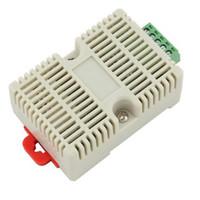 Wholesale High Temperature Transducer - Temperature Humidity Transmitter Data Acquisition Module Transducer High Precision Sensor RS232 toTTL USR-SENS-WSD