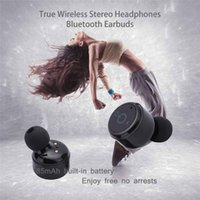 Klingen Wahr Kaufen -Mini Wireless Bluetooth Kopfhörer Noise Cancelling und True Wireless Bluetooth V4.2 In Ohr Ohrhörer Stereo Surround Sound Headset Kopfhörer