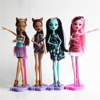 Wholesale Plastic Doll Joints - 2pcs set 2016 Popular Fashion Doll 9.5 Inch Girl Doll toys Briar Beauty Joint Moveable 11 joints Random handle gift