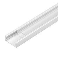 Wholesale aluminum industrial extrusion resale online - led aluminium profile m per Set LED Aluminum extrusion profile for led strips with milky diffuse cover or transparent cover SN1506