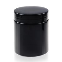 Wholesale Cheap Uv - REANICE Black UV glass jar with Black cap food preservation jar Airtight Cheap and easy to clean Luxury Experience Cheap jar
