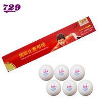 Wholesale table tennis friendship 729 - Wholesale- 18x RITC Friendship 729 3 Star (3-Star, 3Star) 40mm Table Tennis   PingPong Balls, White