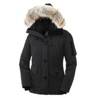 Wholesale Big Red Hood - C27 MONTE BELLO Good Quality women winter jacket Raccoon Fur parkas Euro Size anorak coats with big fur hood parka women jackets overcoats