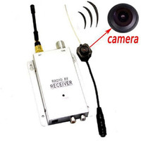 Wholesale Wireless Pinhole Camera System - llfa483 Free Shipping mini wireless Micro Hidden Spy Camera Nanny Camcorder Pinhole System NEW