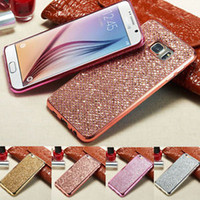 sparkle cell phone covers - For Samsung Galaxy Cell Phone case Luxury Glitter Bling Sparkle Soft TPU Case Cover no retail package