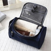 Wholesale Double Suspension - Travel Storage Bag Multi Function Outdoors Suspension Type Oxford Wash Bags Double Deck Space Waterproof Cosmetic Package 8 8bh J R