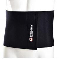 Wholesale fitness equipment women - Fitness Equipment Neoprene Black Adjustable Slimming Belt Waist Trimmer Cincher Support for Gymnastics Women Outdoor Fitness Equipment