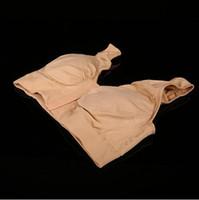 Wholesale bamboo drapes - Miracle Bamboo Comfortable Bra Seamless Breathable Viscose Stretch Nude Miracle Bamboo Front Closure Bra CCA6533 50pcs