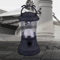 Wholesale camping england - Portable Lanterns Retro Pony Lights Mini Campfire Camping Light Tent Lamp England Outdoor Travel LED Lamps 5 5df