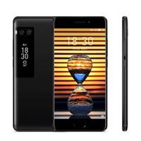 meizu 4g toptan satış-Orijinal Meizu Pro 7 4G LTE Cep Telefonu 4 GB RAM 64 GB / 128 GB ROM MTK Helio X30 Deca Çekirdek Android 5.2