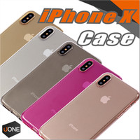 Wholesale Camera Skin - For Iphone X cases High Quality 1.0mm Colorful Soft TPU Ultra-Thin Slim Cover Case Skin Protection Camera For Iphone X case