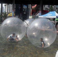 Envío Gratis 2 m Walk On Water Ball / Deportes Acuáticos Globo Water Walking Ball / Agua Zorb Ball / Hombro Humano Inflable Bola