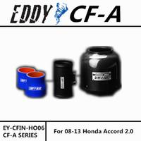 Wholesale Honda Accord Intake - Free Shipping For Honda Accord 2.4L 2008-2013 High Performance CF-A Carbon Fiber Cold Air Intake System Air Filter