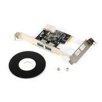Wholesale Port Vista - 2 Port USB 3.0 PCI-E Express card PCI Add-in Card for Desktop 2000 XP Vista 7 Windows