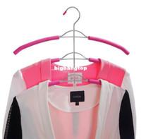 Wholesale Wholesale Hangers For Suits - Organize Closet, Non Slip 3 Layers Strong Metal Hanger for Clothes Coats (2 pieces Lot)