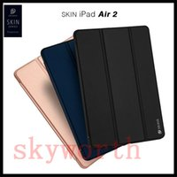 Wholesale Galaxy S3 Mini Flip Leather - Flip Folio Case Smart Cover For New ipad 10.5 2017 ipad mini air 2 3 4 Galaxy S3 T820 With Retail Package