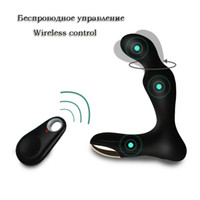 Wholesale Massage New Sex - New Sex toys Anal plug Massage Wireless Remote Control Electric Stimulation Prostate Massager Anal Vibrator for Men Erotic Toys q0515