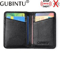 Wholesale Men Leather Pa - card men wallet credit id card holder passport cover tarjetero card wallet business wallet for credit cards carnet cardholder covers for pas
