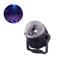 Wholesale Car Led Lights Wholesale Usa - Mini LED Disco Ball Multi Colored RGB Rotating Stage Lighting System for Car Family Party Wedding Show Decoration