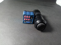 Wholesale c mount camera lens resale online - Freeshipping NEW Industry Microscope Camera MP HD VGA outputs X C mount Lens for LAB PCB Mobile phone repair