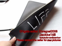 Wholesale Black Portfolio - REAL genuine leather life is XXXXX CLUTCH pouch Mens GHOST Portfolios PURSE 433665 445597 30CM wallet caleido 429004 424900 431416 421851