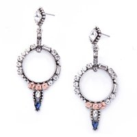 Cheap Pink Crystal Chandelier Earrings | Free Shipping Pink ...
