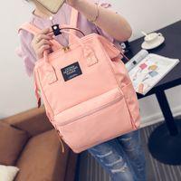 Wholesale Big Computer Bag - Wholesale- LEFTSIDE 2016 New Big Students' Computer backbag travelling shoulder bag women's casual backbag For girls canvas backpacks