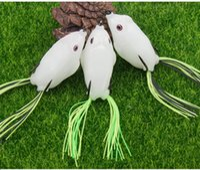 Wholesale Soft Plastic Bass Fishing - Wholesale Big and Samll Size Soft Plastic Luminous Frog Fishing Lure For Bass