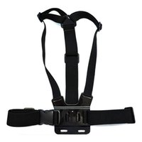 Wholesale Hand Bag Straps - for Gopro Accessories Adjustable Chest Strap Belt Body Tripod Harness Mount For Gopro Hero 5 4 3+2 1 SJCAM Xiaomi Yi Camera Accessories