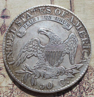 Wholesale people cap for sale - Group buy 1815 Capped Bust Half Dollars Copy Coins High Quality old style Copy coin