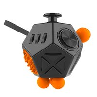Wholesale Cube World Toys - 3D Fidget Cube Toys The Second Generation Fidget Cube IINew Novelty Version the World Decompression Anxiety Toys vs Handspinner Hand Spinner