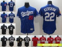 Wholesale Cheap Kershaw - 2017 Spring Training Los Angeles Dodgers Jersey 22 Clayton Kershaw Cheap Baseball Jersey All Stitched Logos