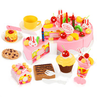 Wholesale Cut the cake in children play toy girl birthday cake and lego toys suit