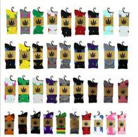 Wholesale Christmas Soccer Socks - 24Colors christmas plantlife socks for men women high quality cotton socks skateboard hiphop maple leaf sport socks wholesale