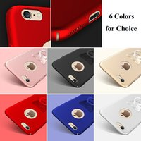 Wholesale Shell Holder Plastic - 6 Colors Finger Ring Grip Hook Holder Phone Shell Protect Case for iPhone 6   6S Cell Phone Accessories