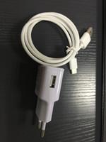 tipos de enchufe al por mayor-Cargador de 5V 2A + cable USB tipo C Adaptador de corriente de cargador eléctrico de pared UE / EE. UU.