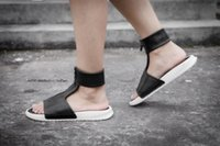 Flat Heel black lab band - With Box Brand Women LAB BENASSI CUFF LUX Sandals Ladies Fashion Slippers
