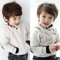 Wholesale Cheap Baby Girl Outerwear - Wholesale- 2016 Autumn and Winter Boys Girls Clothing Baby Child Clothing with Hood Fleece Sweatshirt Cheap Warm Comfortable Outerwear