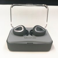 Wholesale case usb charge online - MOQ10pcs Moxpad M6 Wireless Earphones Separating Earbud Bluetooth TWS Earphones Stereo Music Headsets with Charge Case